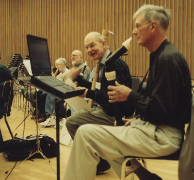 Picture of a recorder ensemble